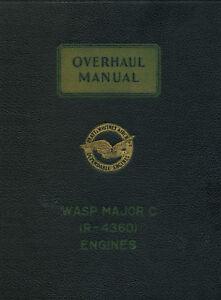 PRATT-amp-WHITNEY-R-4360-WASP-MAJOR-B6-and-CB2-OVERHAUL-MANUAL-STRATOCRUISER