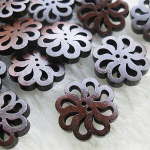 40pcs-lot-PRO-Flower-Cute-Wooden-Buttons-Sewing-Craft-Button-20MM-NEW
