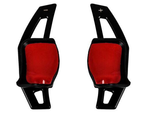 SW/_4 Schaltwippen Verlängerung Black DSG peddle Shifter Extensions VW Tiguan
