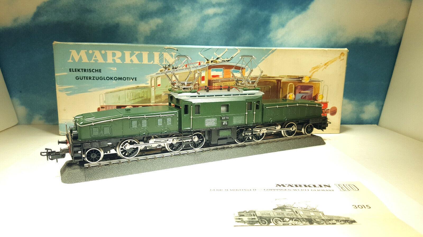 MARKLIN 3015 Ce 6 8 Krokodile 1960 HO OVP KSP.
