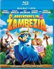 Adventures in Zambezia 0043396416000 With Leonard Nimoy Blu-ray Region a