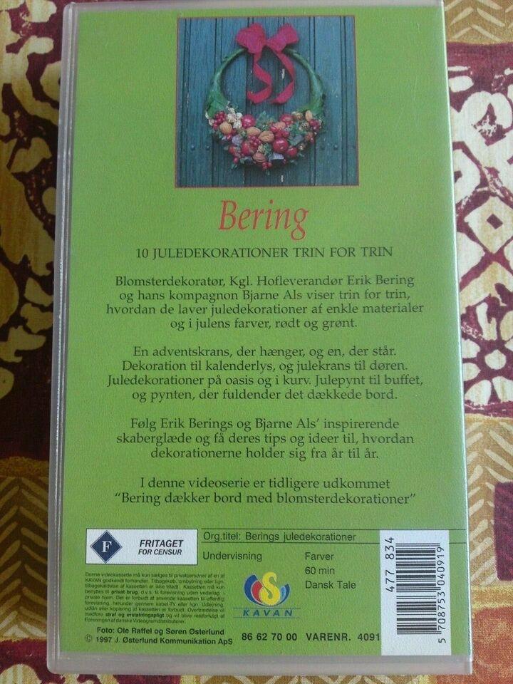 Anden genre, Berings juledekorationer , instruktør Erik