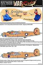 Kits World Decals 1/72 B-24D LIBERATOR Snow White and the Seven Dwarfs (2 Vers)
