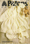 12 traditional baby designs to knit or crochet - Patons No 985 - Knitting Book