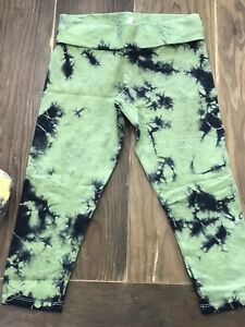 yoga compression fitness capris planet body vintage women hand made pants