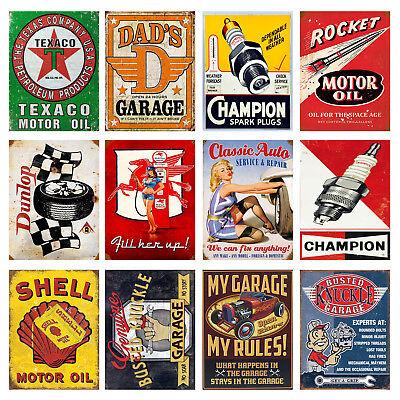 garage Home Decor cadeau Classic Car Austin Retro Vintage Métal Signe//Plaque