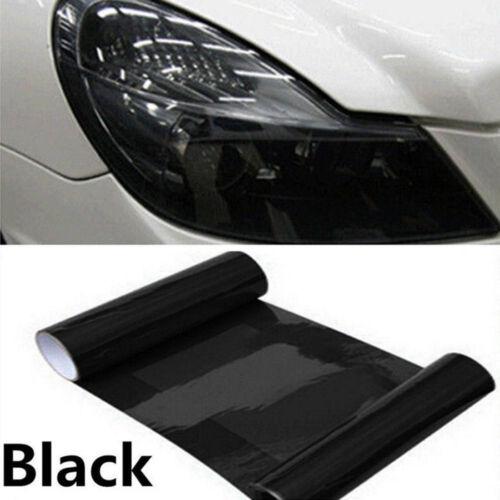 Car Tailight Headlight Smoke Black Vinyl Film Cover Overlay Sticker 30cm x 60cm