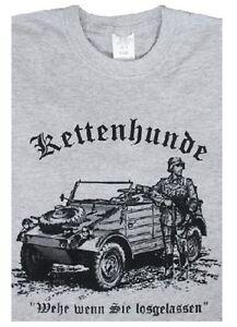 """T-Shirt """"Wehe wenn Sie losgelassen"""" KH Soldat Kübelwagen Typ82 WH WK2 S-XXL"""