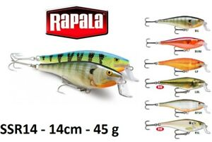 Rapala-Super-Shad-Rap-Fishing-Lure-14cm-45g-Various-Colours-For-Predator-Bait