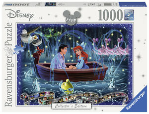 RAVENSBURGER-PUZZLE-1000-TEILE-DISNEY-COLLECTOR-039-S-EDITION-ARIELLE-RARITAT-OVP