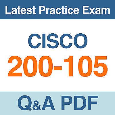 Cisco ICND1 /& ICND2 Exam Dump for 100-105 /& 200-105 Test Q/&A PDF VCE Simulator
