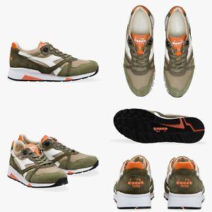 Sneakers-scarpe-DIADORA-HERITAGE-N9000-H-C-SW-P-E2019-BURNT-OLIVE-GREEN-List190