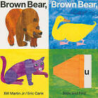 Brown Bear, Brown Bear, What Do You See? Slide and Find by Bill Martin (Board book)
