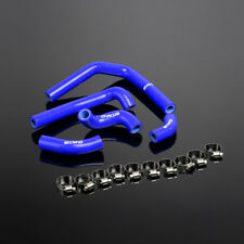 Blue For 2005-2007 HONDA CR250R 2005 2006 2007 Silicone Radiator Hose Clamps Kit