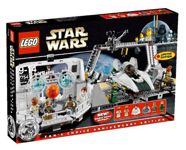 Lego Star Wars  7754 Home One Mon Calamari Star Cruiser 2009 NEUF  venez choisir votre propre style sportif