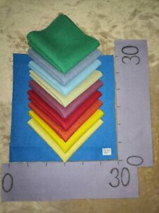 OFFCUTS-100-Wool-Fabric-10-Pieces-30x30cm