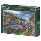 Falcon Deluxe Summertime Harbour Jigsaw Puzzle (1000 Pieces)
