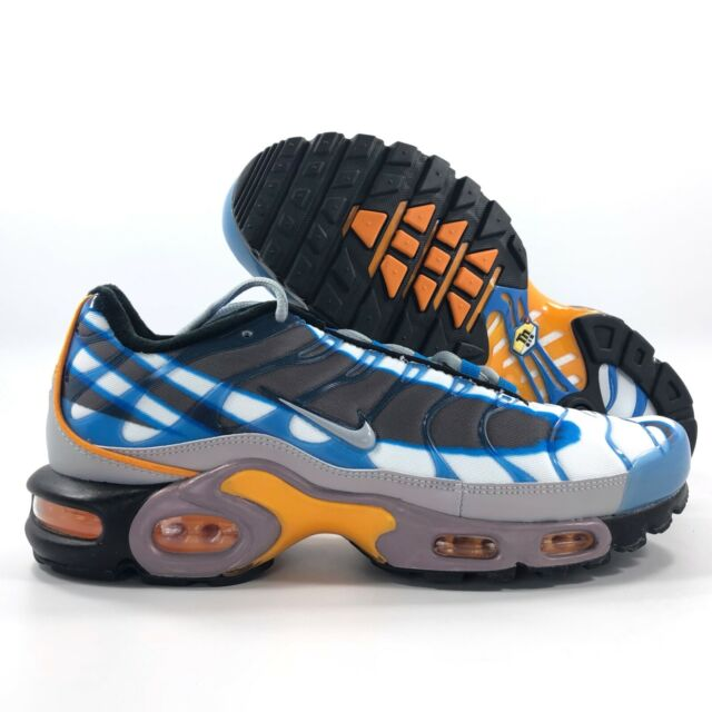 timeless design 2f95c 78341 Nike Air Max Mens Size 15 Plus TN OG PRM Blue Wolf Grey Orange Deluxe  815994 400