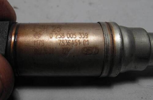 BMW S85 V10 M5 M6 Post-Cat Downstream Oxygen O2 Sensor Bosch 2006-2010 USED OEM