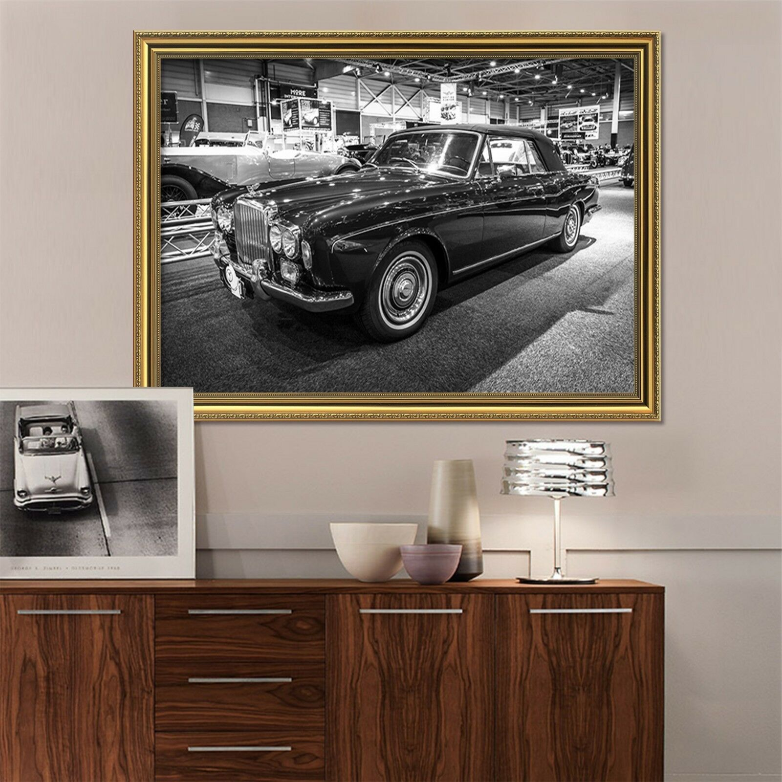 3D Luxury Car 63 Framed Poster Home Decor Print Painting Art AJ WALLPAPER