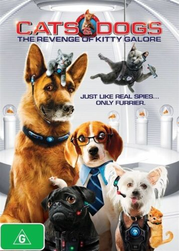 1 of 1 - Cats & Dogs 2 - The Revenge Of Kitty Galore (DVD, 2011) R4 PAL NEW FREE POST