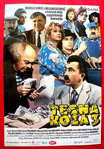 TESNA-KOZA-III-1988-NIKOLA-SIMIC-MILAN-GUTOVIC-RUZICA-SOKIC-EXYU-MOVIE-POSTER