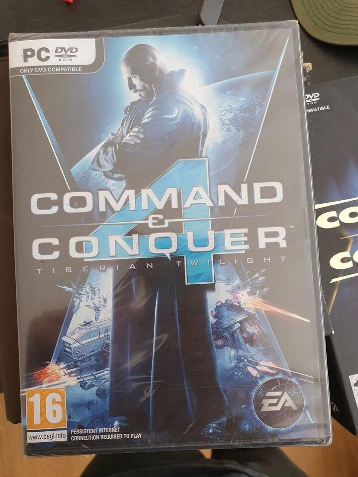 Command & Conquer 4 Tiberian Twilight, til pc, strategi