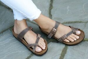 BIRKENSTOCK MAYARI HABANA OILED LEATHER | ENHANCE U