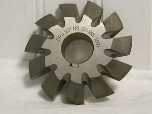 TTC 20 D//P x Cutter # 7 14-1//2° PA HSS Involute Gear Cutter