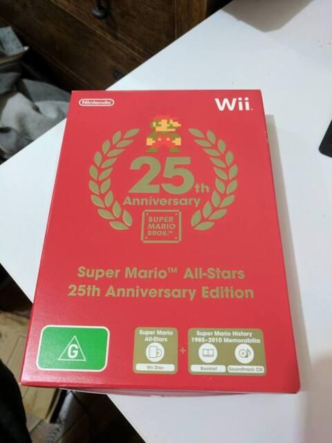 Super Mario All Stars Wii 25th Anniversary PAL