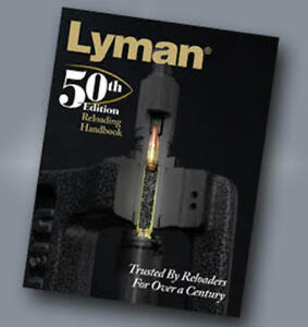 Lyman 50th Ed Reloading Handbook Softcover