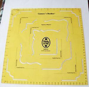 Creative-Memories-Corners-N-Borders-Template-12-x-11-25-Used-OOP-amp-NLA