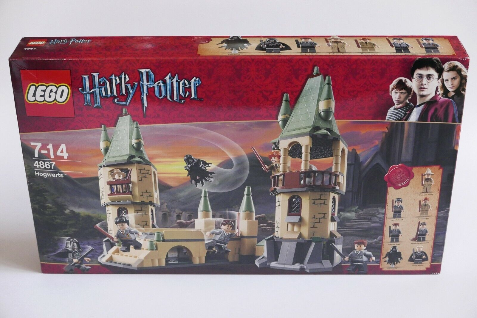 LEGO Harry Potter 4867 Hogwarts NEW Sealed RARE Neu