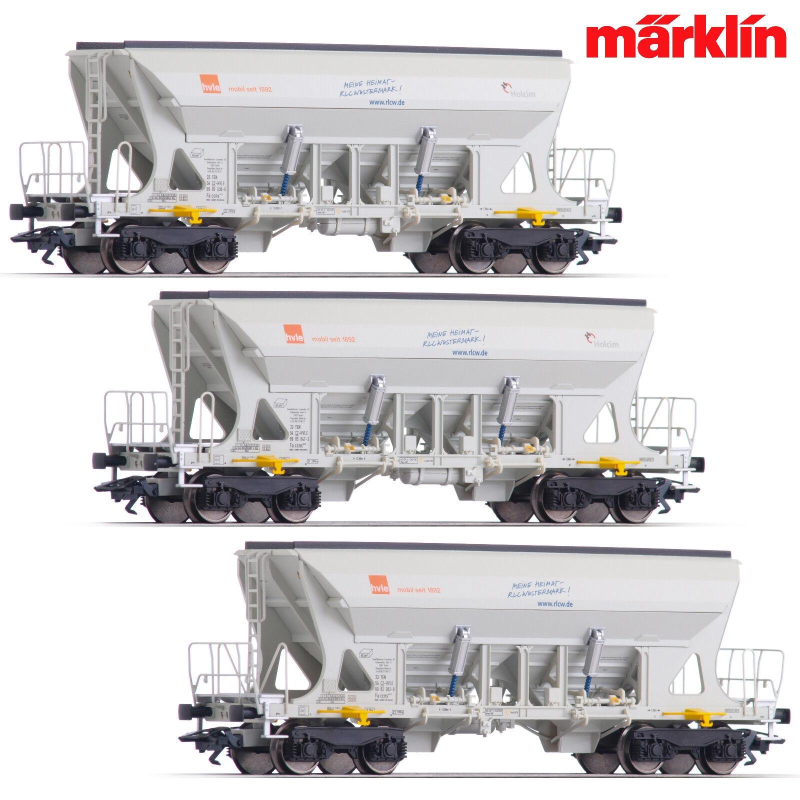 Märklin 45805 h0 carrello ammassare-Set faccns della hvle 3 pezzi + + NUOVO & OVP + +
