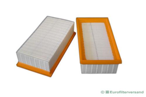 Filter für 2 x Festo Festool CT 44 E LE Luftfilter Filterelement Faltenfilter