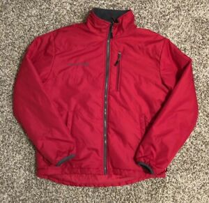 Free-Country-Men-039-s-Soft-Shell-Jacket-Medium-Red-Full-Zip-Outdoors-Winter