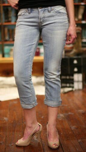 Capris 20 media elasticizzato Silver Tris 16 18 Womens Jeans 14 a vita Jean Plus wEFpWOqc