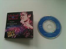 Michael Jackson - BILLIE JEAN / WANNA BE STAR.. 3 INCH Mini CD Single SOLID GOLD