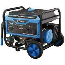 Pulsar 12,000 Watts Dual Fuel Gas/Propane Portable Generator Electric Start P...