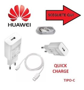 CARICATORE-RETE-ORIGINALE-HUAWEI-QUICK-CHARGE-CAVO-TYPE-C-P9-P10-HONOR-8-MATE