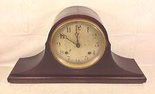 Antique Ansonia Tambour Mantel Clock Runs? Bim Bam Strike