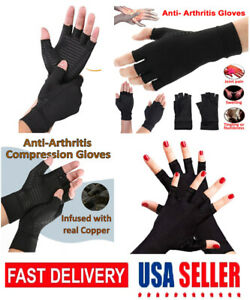 Copper Arthritis Fit Compression Gloves Hand Support