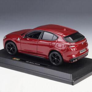 BBURAGO-1-24-Scale-Alfa-Romeo-Stelvio-Diecast-Models-Car-SUV-Toys-Model-FOR-Gift