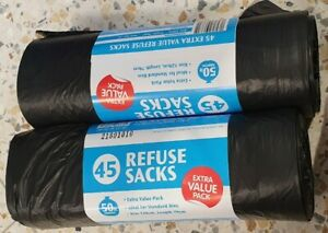 2-STRONG-BLACK-BIN-LINERS-RUBBISH-BAGS-WASTE-REFUSE-SACKS-FOR-EVERYDAY-RUBBISH