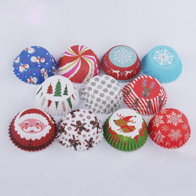 Terrific 150Pcs Cut Christmas Birthday Cake Decor Tools Paper Muffin Funny Birthday Cards Online Necthendildamsfinfo