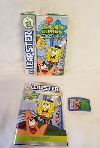 LeapFrog-SpongeBob-SquarePants-Saves-the-Day-Leapster-2003-rare-box-edition