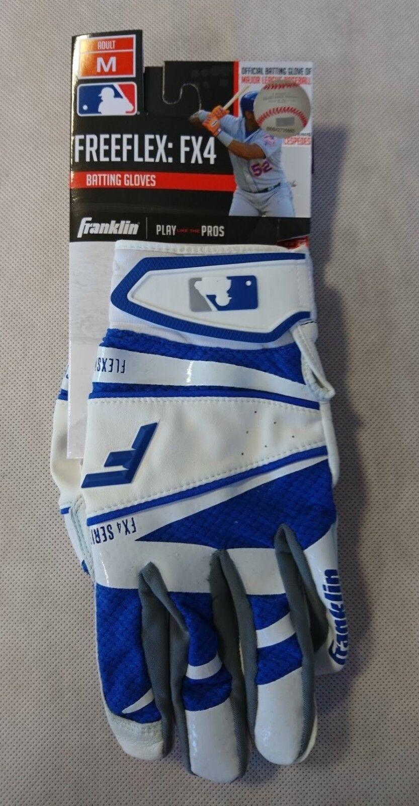 Franklin Batting Glove Freeflex FX4 - - - ADULT - Gr. M - Baseball-Handschuh weiß 5a5987