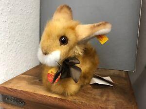 Teddys Top Zustand Verkaufspreis DemüTigen Steiff Tier 077456 Hase 18 Cm Antikspielzeug