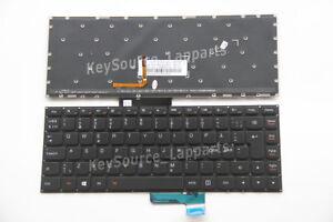 NEW For Lenovo YOGA 500-15IBD 500-15IHW Keyboard backlit Swiss Tastatur No Frame