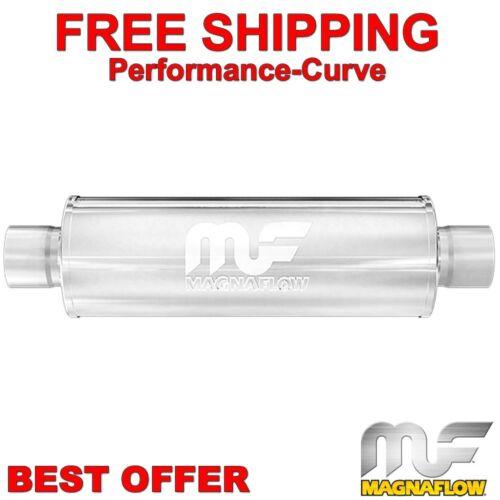 "6/"" Round 6/"" Body MagnaFlow Race Muffler SS 14160 3.5/"" C//C"